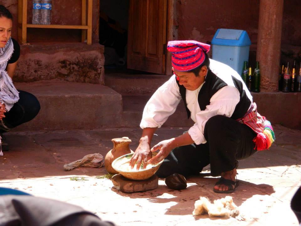 Peru: Homemade shampoo