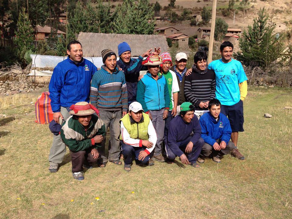 Peru: The crew