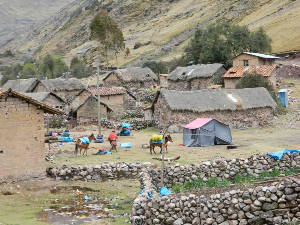 Peru: Village homes