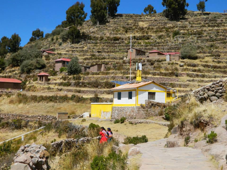 Peru: Village view