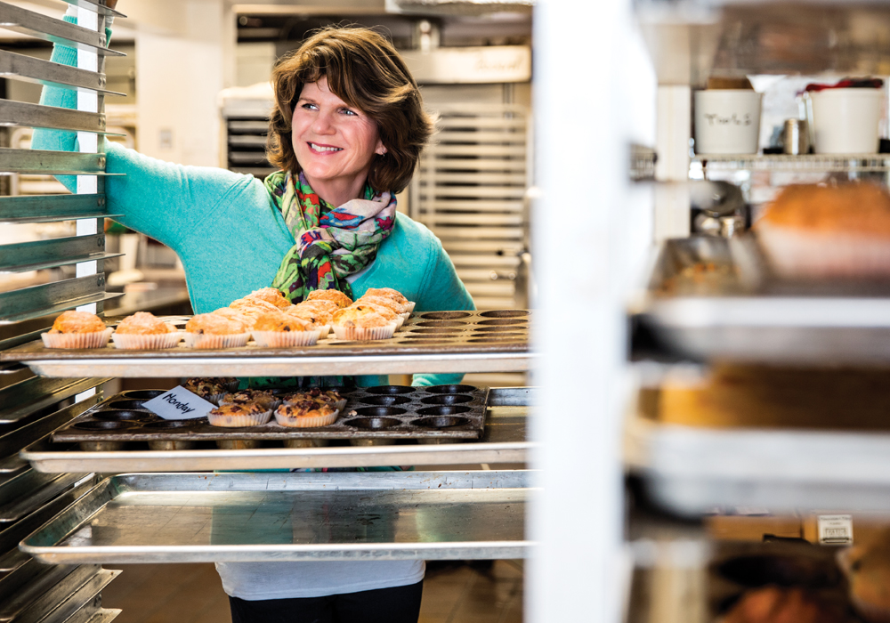 After growing her small bakery, Tate's Bakeshop, into a national brand, Kathleen King is feeling fulfilled. Courtesy Long Island Pulse Magazine.