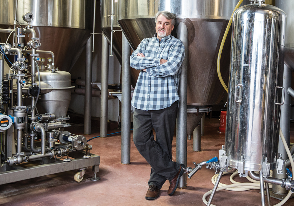 Despite selling the company, Mark Burford, one of the two founders of the Blue Point Brewing Company, remains involved to ensure that his vision for great beer lives on. Courtesy Long Island Pulse
